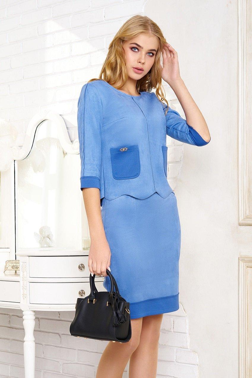 Купить женский костюм с юбкой