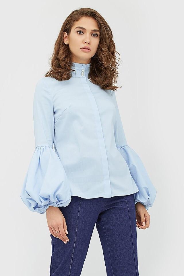Белая блузка для офиса купить