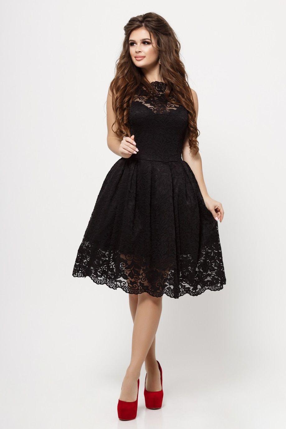 Купить Платье Гипюр Недорого